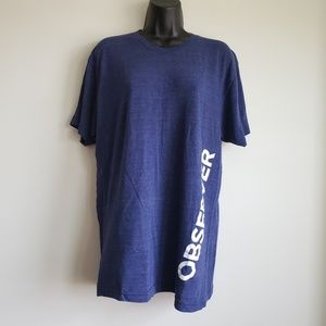 American Apparel The Track Shirt Observer Tshirt